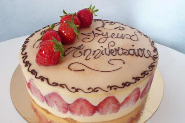 Un entremet traditionnel multifruits rouges